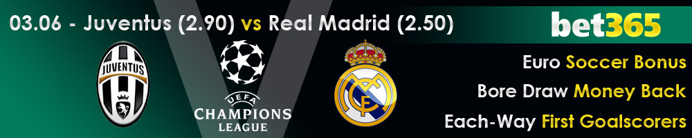 Juventus vs Real Madrid Champions League 2017