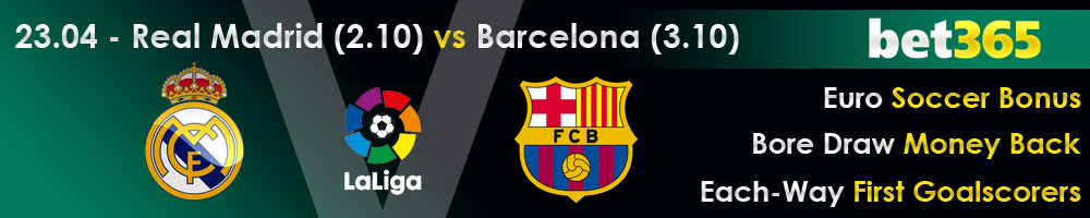 Real Madrid vs Barcelona 23-04-2017