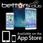 Bettors Club App on Apple iTunes App Store